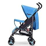 CDREAM Kinderwagen Leichter Buggy mit Sonnenverdeck Safety 1st Kompakter,Blue