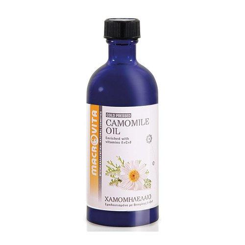 MACROVITA CAMOMILE OIL WITH VITAMIN COMPLEX E+C+F 100 ML.