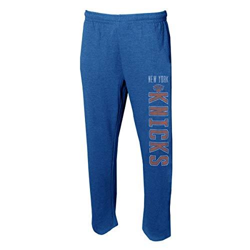 Concepts Sport Herren NBA Squeeze Play- Retro Nachtwäsche Pyjama Pants-Heathered, Herren, New York Knicks, X-Large