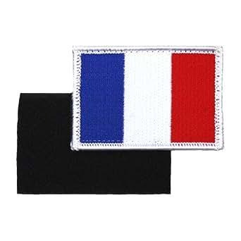 AlxShop - Patch France drapeau avec velcro