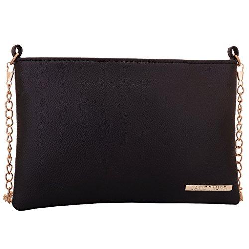 Lapis O Lupo Blakkaz Women's Sling Bag (Black)