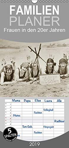 Frauen in den 20er Jahren - Familienplaner hoch (Wandkalender 2019 , 21 cm x 45 cm, hoch): Von Straßenbahn bis Strandurlaub (Monatskalender, 14 Seiten ) (CALVENDO Menschen)
