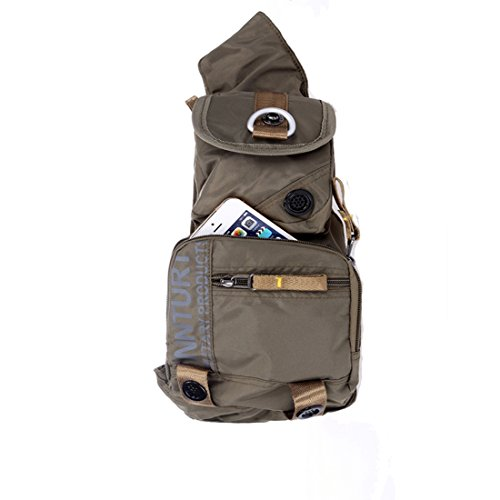 Innturt Bodybag-Rucksack, Nylon New Moon-Army Green
