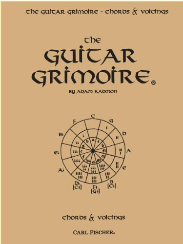 The Guitar Grimoire: A Compendium of Guitar Chords and Voicings by Adam Kadmon (1993-06-01)