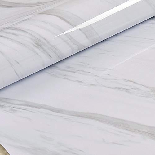 Piastrelle adesive 60x300cm carta da parati per il restauro del controsoffitto del ripiano della cucina carta da parati in marmo autoadesiva in vinile impermeabile per la decorazione del soggiorno
