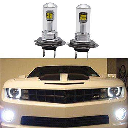 2x H7 6000K 80W High Power CREE LED Fog Driving Light Canbus Lamp Bulb White