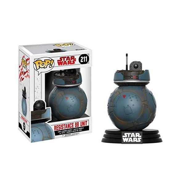 Funko Pop BB-Unit de la resistencia negro – Exclusive (Star Wars 211) Funko Pop Star Wars