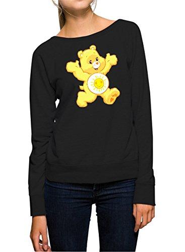 Sunny Bear Sweater Girls Black Certified Freak-L