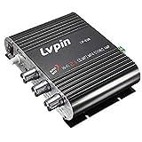 Casavidas lvpin lp-838Car Home Mini Amplificador Estéreo Hi-Fi Booster Radio MP3Super Bass 200W 2.1ch 12V