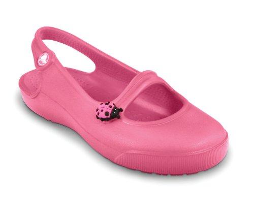 crocs Kids Gabby, Zoccoli Bambina Fucsia