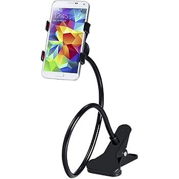 Handyhalterung Schwanenhals Handy Halterung Handyhalter Smartphone IPhone  Klammer Clip Universal Gadget Für Haus Büro Bett Tisch, 360 Grad Drehbar ...