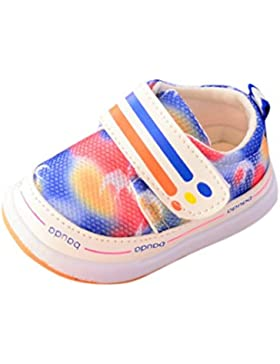 Igemy 1 Paar Neugeboren Säugling Baby Mädchen Camouflage Krippe Schuhe Soft Sole Anti-Rutsch Turnschuhe