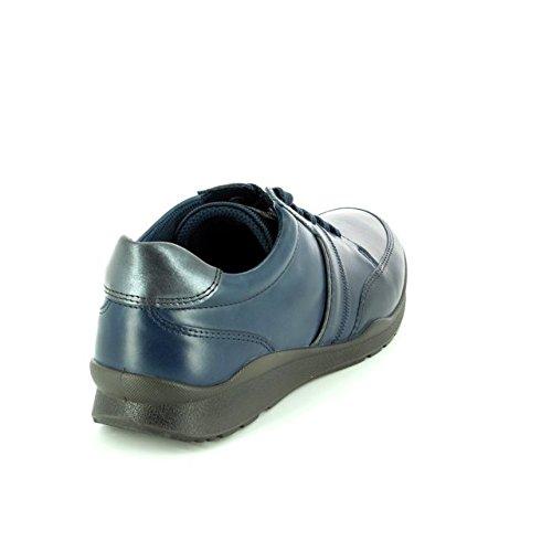 ECCO, Sneaker donna 52668 MARINE LEA/NUB
