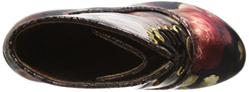 Irregular Choice Firestar, Bottes Classiques femme Noir - Black (Black/Gold)