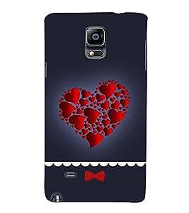 Hearts in Heart Hard Polycarbonate Designer Back Case Cover for Samsung Galaxy Note 4 :: Samsung Galaxy Note 4 N910G :: Samsung Galaxy Note 4 N910F N910K/N910L/N910S N910C N910Fd N910Fq N910H N910G N910U N910W8