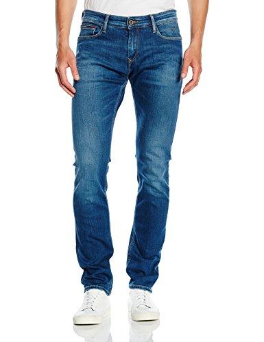 Tommy Jeans Hilfiger Denim Tjw Basic Chino 11, Pantalones para Mujer, Rosa (Persian Red 684), W30/L32