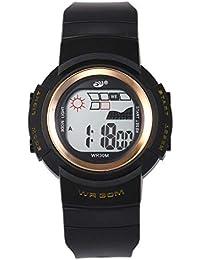 Reloj Digital de acción Doble de 30 m.Clásica Hombres, Mujeres, niños,