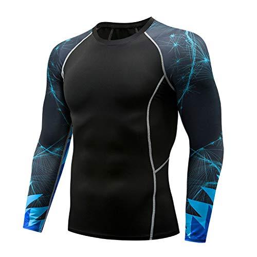 Muscle Mann Kostüm Kinder - NPRADLA Männer Sweatshirt Gym Frühling Langarm