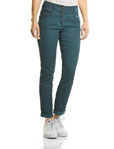 Cecil Damen New York Hose, Grün (Emerald Green 11023), 34/L32(Herstellergröße: 25) -