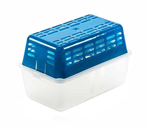 Luftentfeuchter-Box für kleine Räume oder KFZ, Schimmel und muffiger Geruch werden aktiv bekämpft, praktische Box, 2 kg Granulat
