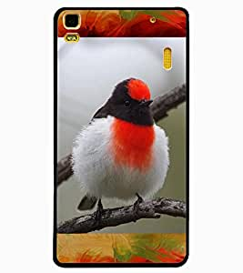 ColourCraft Rare Bird Design Back Case Cover for LENOVO A7000 PLUS