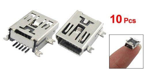10-x-5-broches-femelle-mini-connecteur-de-prise-usb