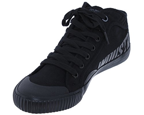 Pepe Jeans, Industry routes m PMS30336, Homme Basket-mode noir les NOIRS