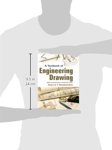 A Textbook of Engineering Drawing: Along with an Introduction to AutoCAD 2015