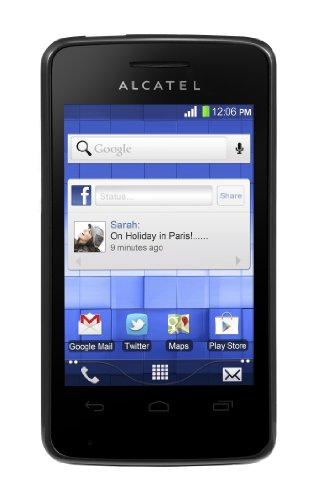 Foto Alcatel One Touch Pop Pixi 40-07X Smartphone, 100 MB, Nero [Italia]