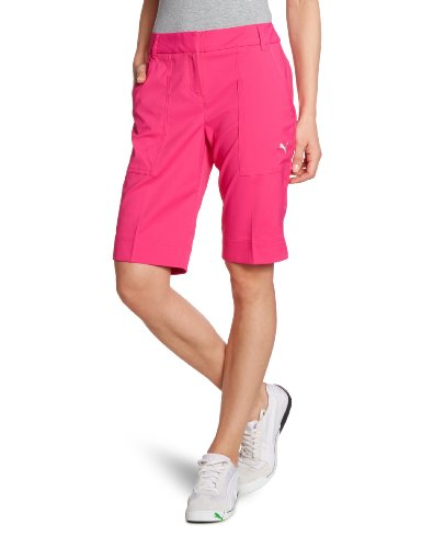 PUMA Golf Damen Kurze Hose Tech Shorts, cabaret, 34, 562701