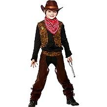 10d43fbfde5f Costume e accessori da cowboy. Bambini Costume selvaggio West dimensione  bambini abiti. Dimensione 5-7 anni (122-