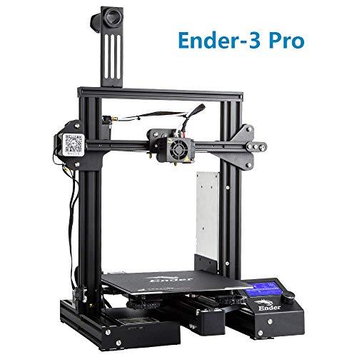 """Creality 3D Ender-3 Pro Stampante 3D con Aggiornamento Cmagnet Costruisci Piastra di Superficie e Alimentatore Certificato UL 8.6\""""x 8.6\"""" x 9.8\"""""""