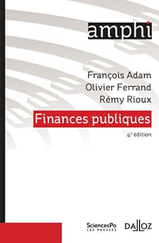Finances publiques - 4e éd. par François Adam