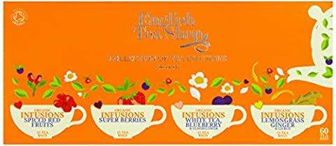 English Tea Shop Organic Infusion Tea Collection (Pack of 60