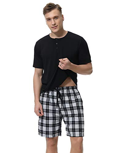 IClosam Pijama Hombre Corto Verano 2 Piezas
