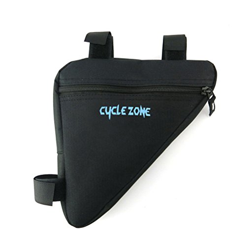WINOMO Fahrradtasche Triangle Bag Wasserdichte Dreieck Fahrradrahmen Taschen (Schwarz)