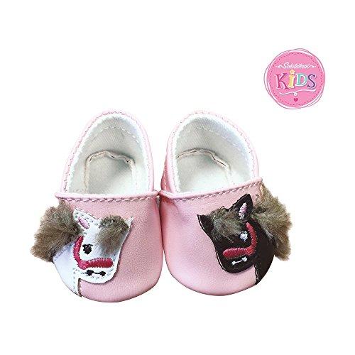 Schildkröt 651401033 - Kids Schuhe Pony, bis 43 cm - Puppe Schuhe