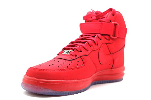 Nike Herren Lunar Force 1 Hi '14 Basketballschuhe Rojo (University Red / Unvrsty Red-Clr)