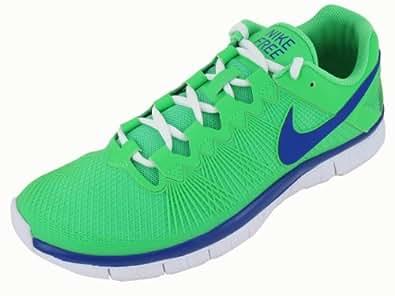 Nike Men's Free Trainer 3.0 Traning Shoe POISON GREE/HYPER BLUE/WHITE 9.5 D(M) US