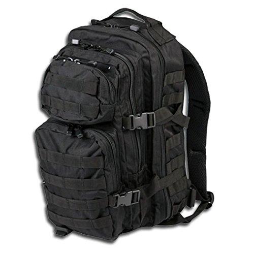 BKL1® US assault pack Large Noir EDC Randonnée survivalisme Survival 565
