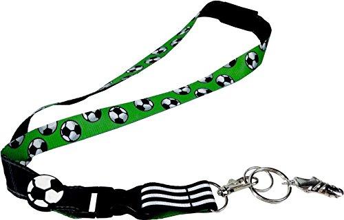 Schlüsselband - Fußballfreunde - Fußball-Schlüsselband: mit Anhänger