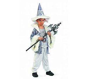 Limit Sport - Disfraz de brujo mago Adalgis para niño, talla 6 (MI782)