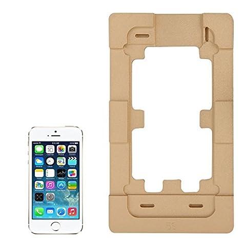 Kits de réparation Écran en alliage d'aluminium de précision Rénovation Moule Moules pour iPhone 5 et 5S LCD et écran