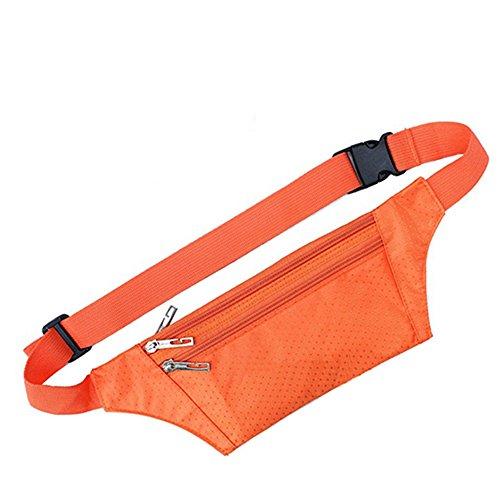 Vita-Borsa da viaggio Unisex da corsa Sport Pack Arancione