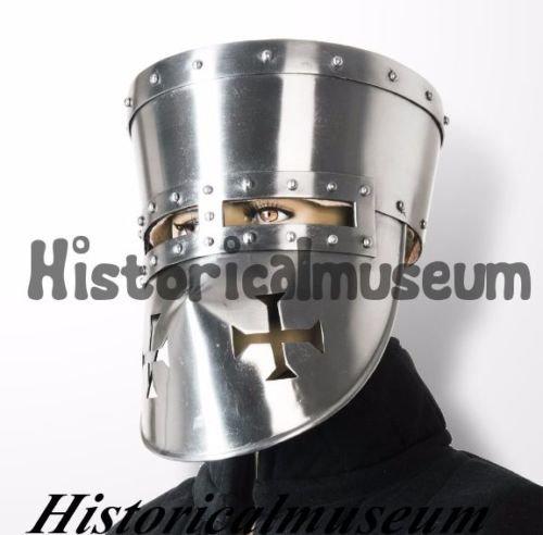 Historicalmuseum Gladiator Barbuta römischen Spartan Maske Sugarloaf Mittelalter Armour Helm XC