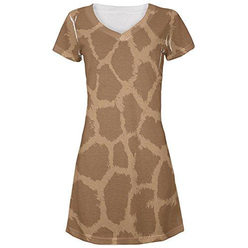 ster Kostüm All Over Juniors Beach Cover-up Kleid Multi SM (Giraffen Kostüme Muster)