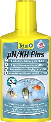 Tetra PH/KH Plus (stabilisiert den pH-Wert und verhindert Säuresturz im Aquarium, für optimale Einstellung der Karbonathärte), 250 ml Flasche