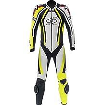 Spyke Mono de piel para moto hombres Blinker RAC traje de una pieza