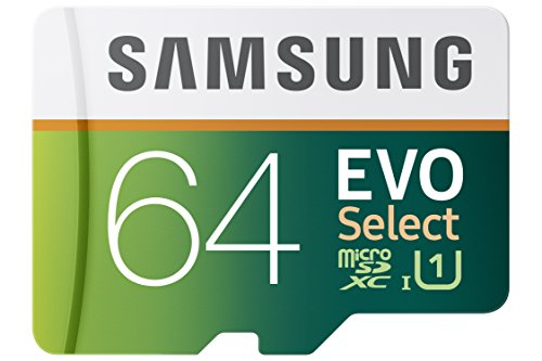 Samsung 64GB EVO Select Micro SDXC Memory Card, 80MB/s (MB-ME64DA/AM)  available at amazon for Rs.10469