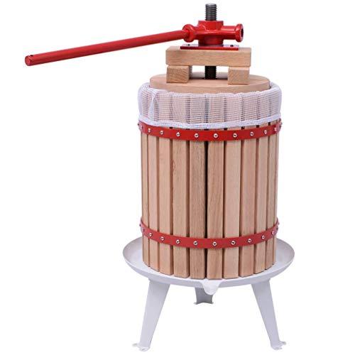 Festnight 2-tlg. Obst-Weinpresse und Mühle-Set Maischepresse Weinpresse Apfelpresse Saftpresse Entsafter Beerenpresse Obstmühle Traubenmühle Beerenmühle